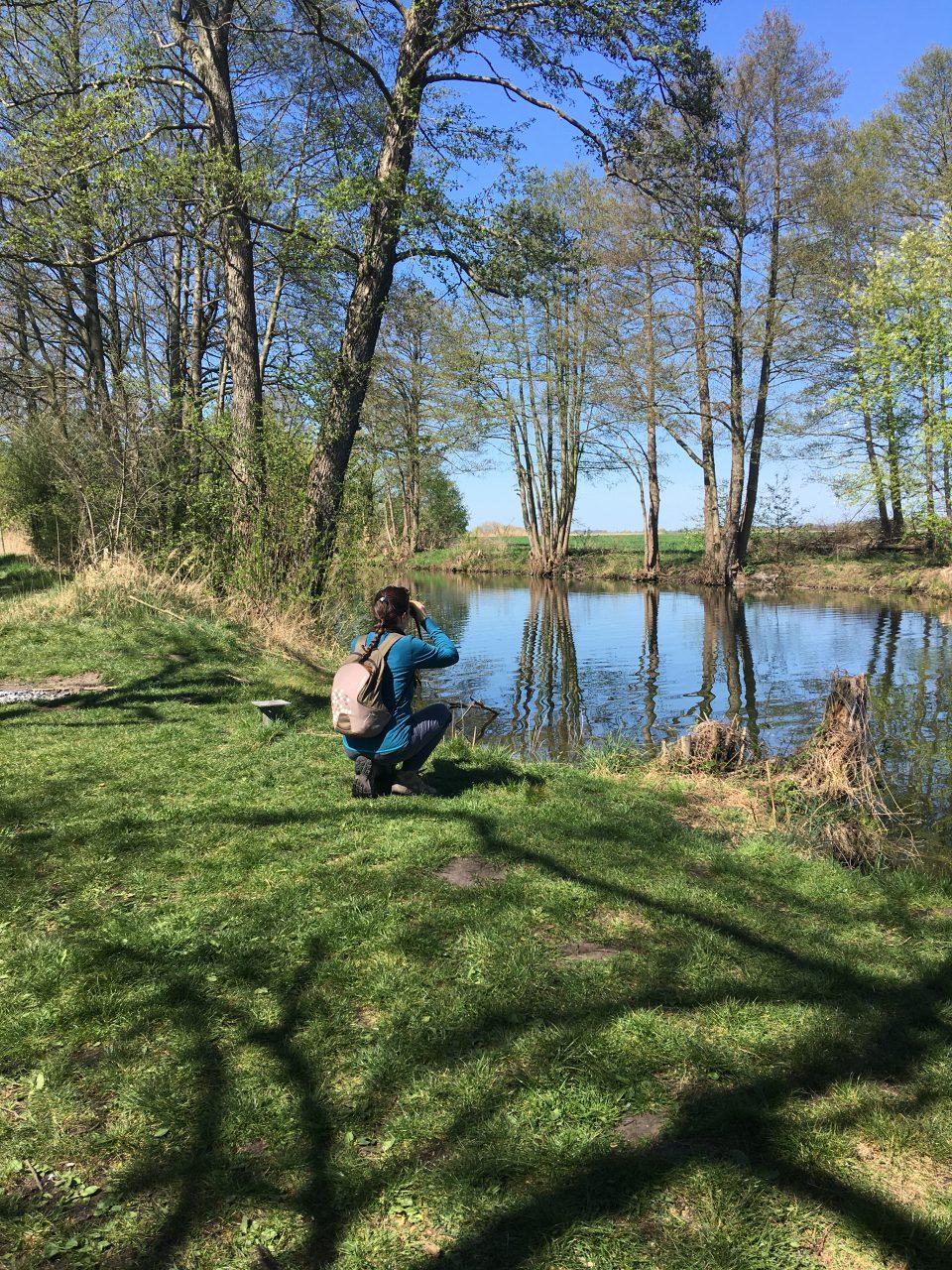 Felicia Guarini Birdwatching